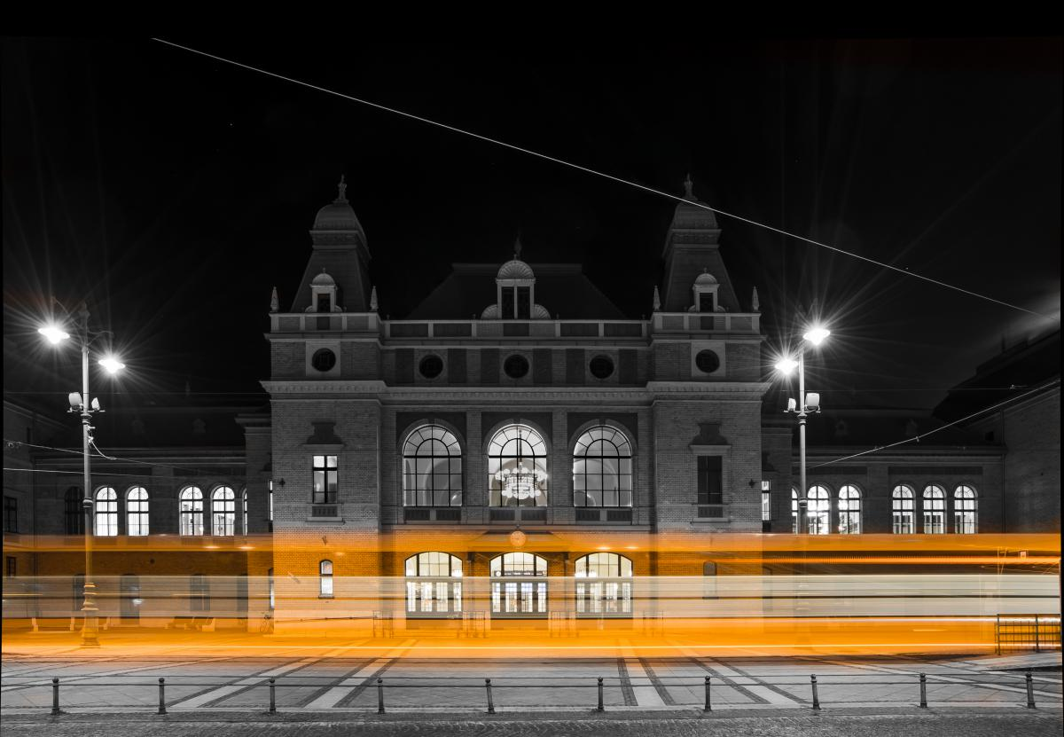 Gabor BIHACSY, Hungary / Szeged Railway Station